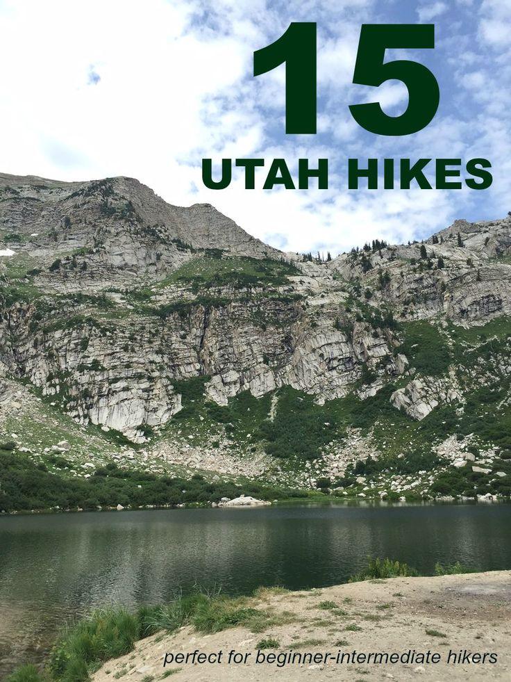 15 Utah Hikes Perfect for Beginner-Intermediate Hikers  | Project Domestication