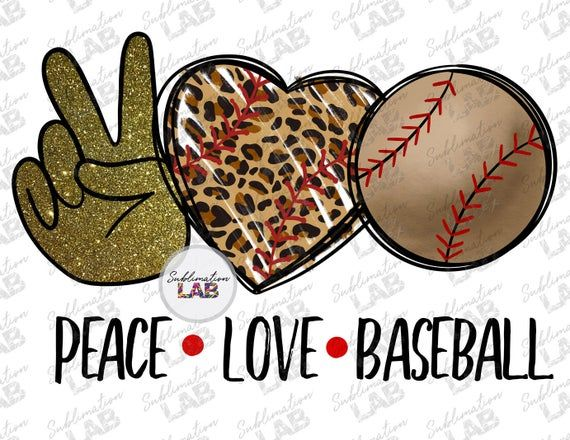 This Item Is Unavailable Etsy Peace And Love Glitter Baseball Clip Art