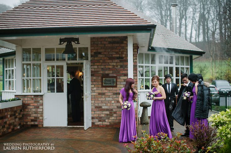 Galgorm Ghost House wedding photographer