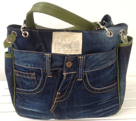 jeans bags taschen pinterest jeans tasche jeans und n hen. Black Bedroom Furniture Sets. Home Design Ideas