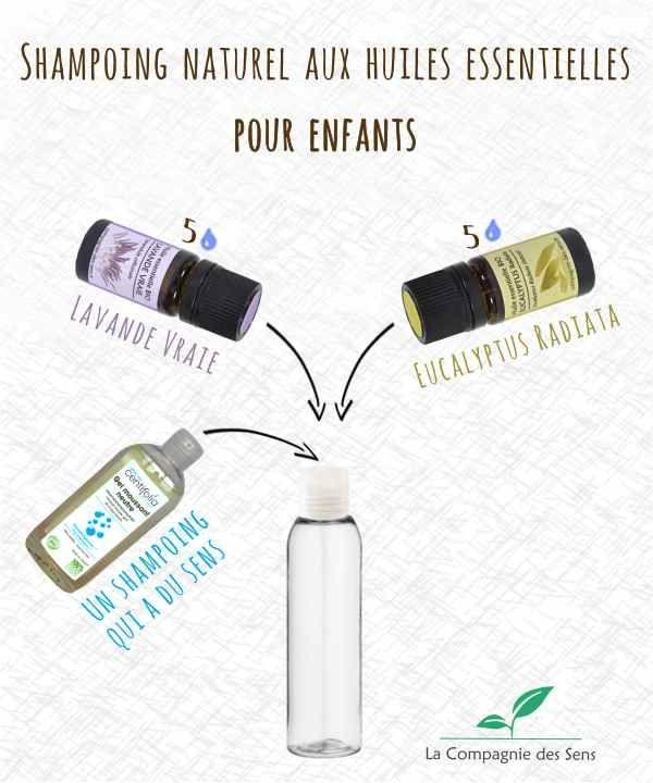Shampoing naturel pour enfant aux huiles essentielles