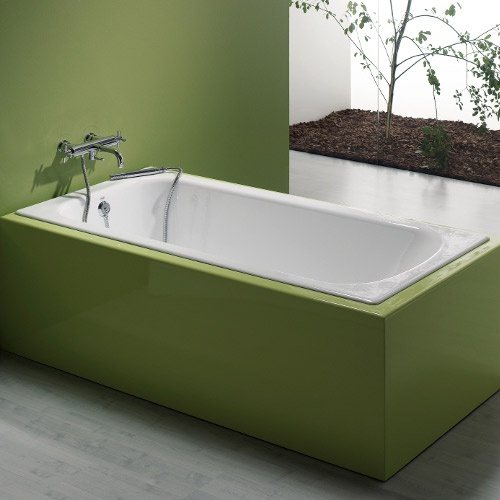 Make Your Bathroom Stand Out With This Amazing Cast Iron Drop In Tub!