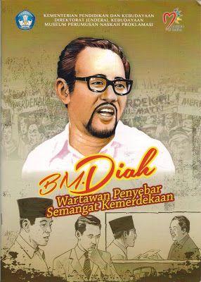 Dasman Djamaluddin: Buku Komik B.M.Diah (Burhanudin Mohamad Diah)