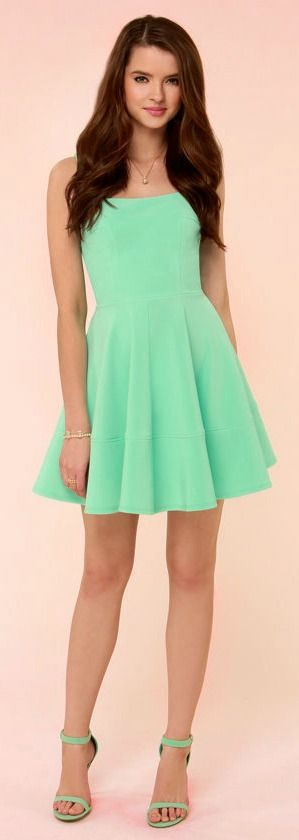 Mint Green + Girly