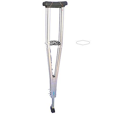 GPC Medical Ltd. - Exporter, Manufacturers & Supplier of Underarm crutches, under arm crutches crc, height adjustable underarm crutches from India