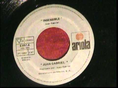 Juan Gabriel- Insensible.