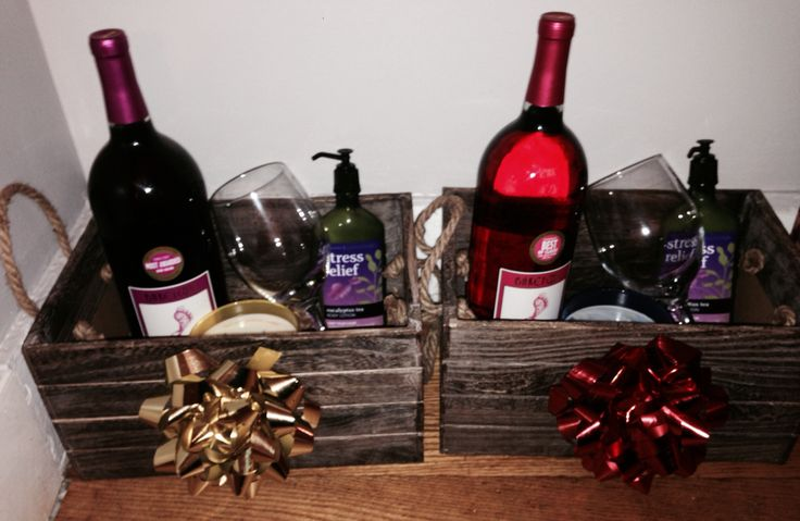 Best 25+ Alcohol Gift Baskets Ideas On Pinterest