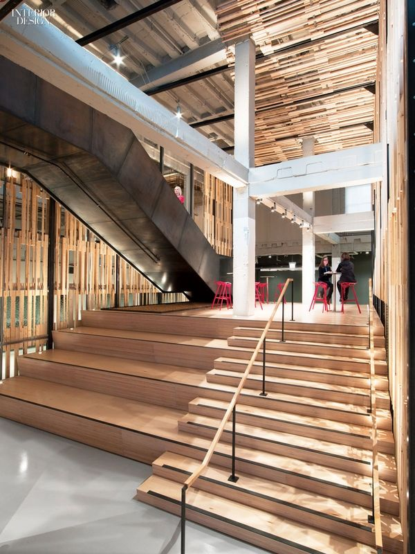 Making Connections: Gensler Delivers Open Office For