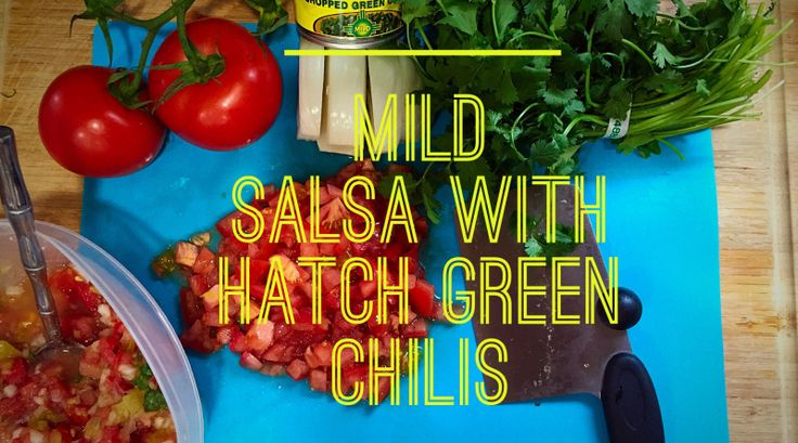 Hatch Green Chili Salsa! | Mommy Only Has 2 Hands