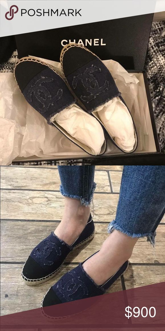 CHANEL Espadrilles Seasonal Sale Sizes Available PM me for sizes. 100% Authentic with receipt and box. Chanel Seasonal Sale is on! starting 6/22. Price via P will be $750. Thanks. CHANEL Shoes Espadrilles