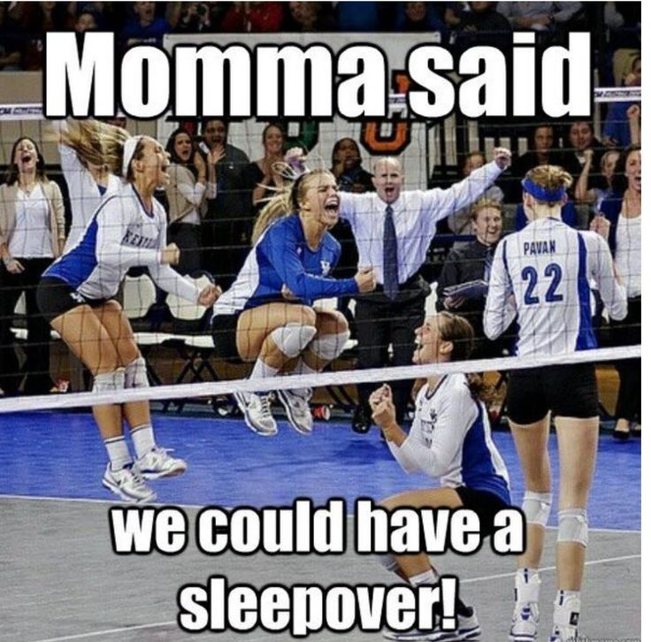 Haha looks like all of the SQMS VB team at districts