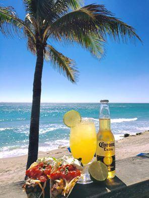 Margarita on the beach!   When staying at: Jupiter Beach Resort