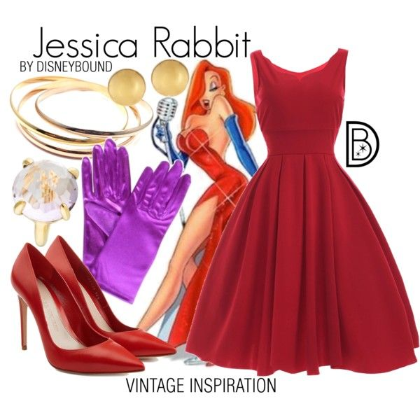 Disney Bound - Jessica Rabbit