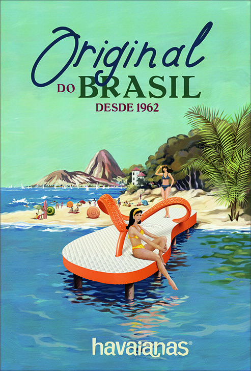 Discover the Brazil of the 60s! ‪#‎TheOriginal‬ ‪#‎HavaianasHistory‬