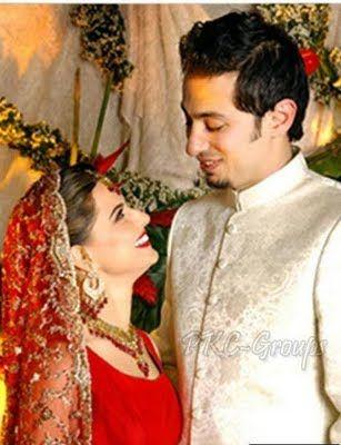 Pakistani Actress Mehreen Raheel Wedding Pic