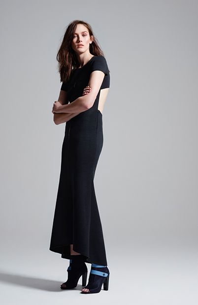 the list backless maxi dress #manningcartell #gamesofscale #AW15