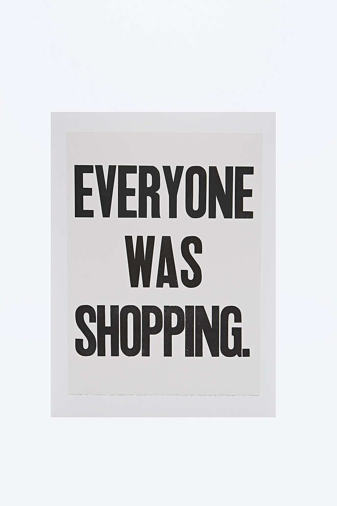 Shopping Wall Art - Urban Outfitters