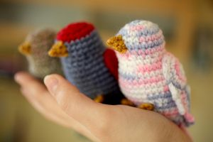 crochet bird free pattern, they are so cute