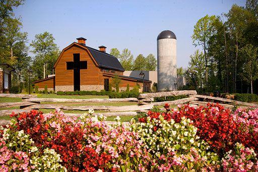 Billy Graham's barn! Spectacular