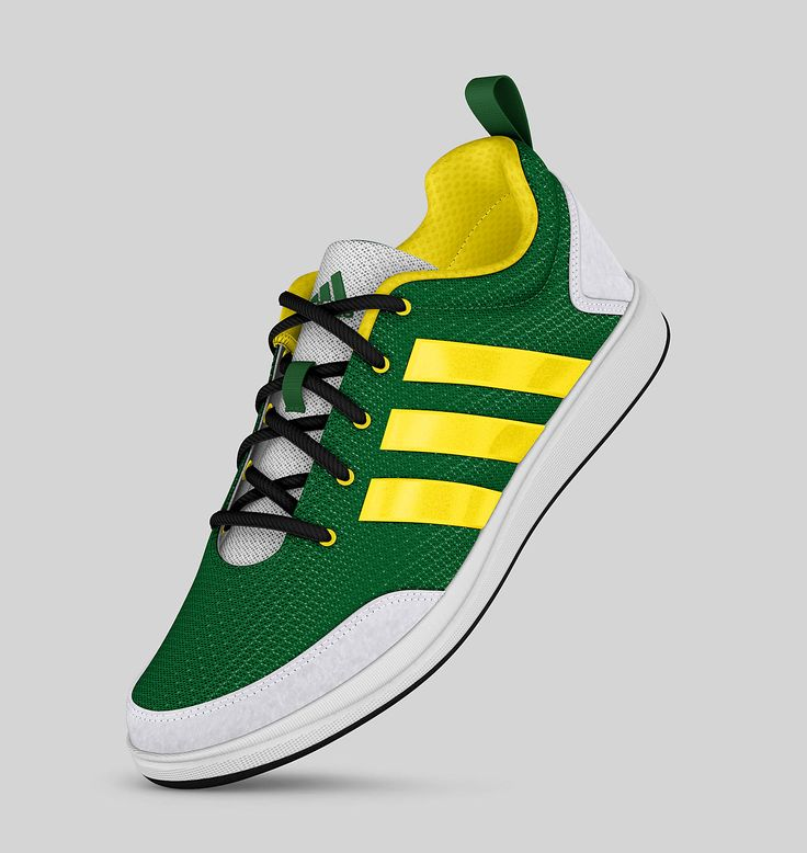 Adidas X-Hale Mesh (Fairway/Vivid Yellow/White/Black)