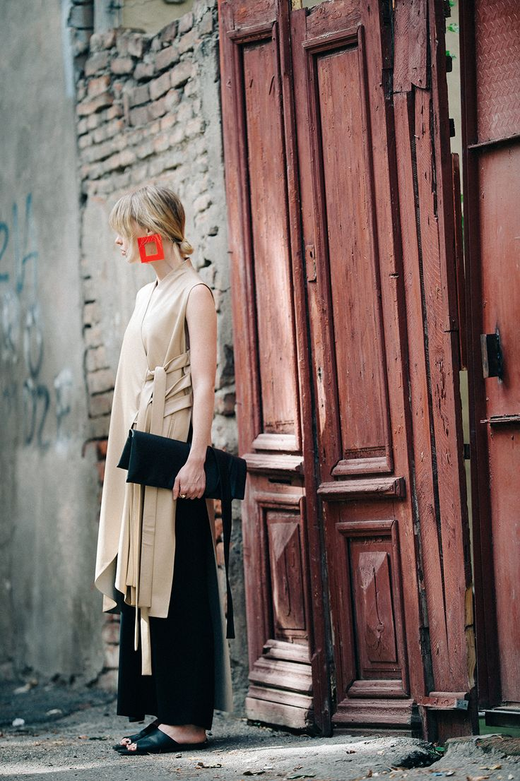 A postcard from Tbilisi: the best of Georgian fashion: Natalie Cantell discovers what the up-and-coming fashion capital has to offer. Wearing MATÉRIEL by Aleksandre Akhalkatsishvili #materieltbilisi #GeorgianDesigners