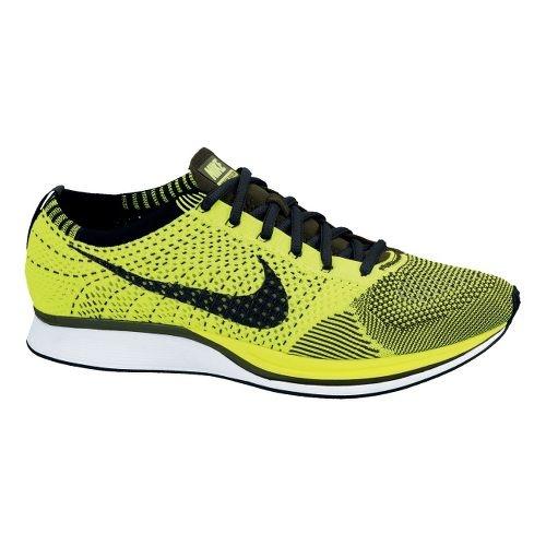Nike Flyknit Racer Racing Shoe - Volt 7.5