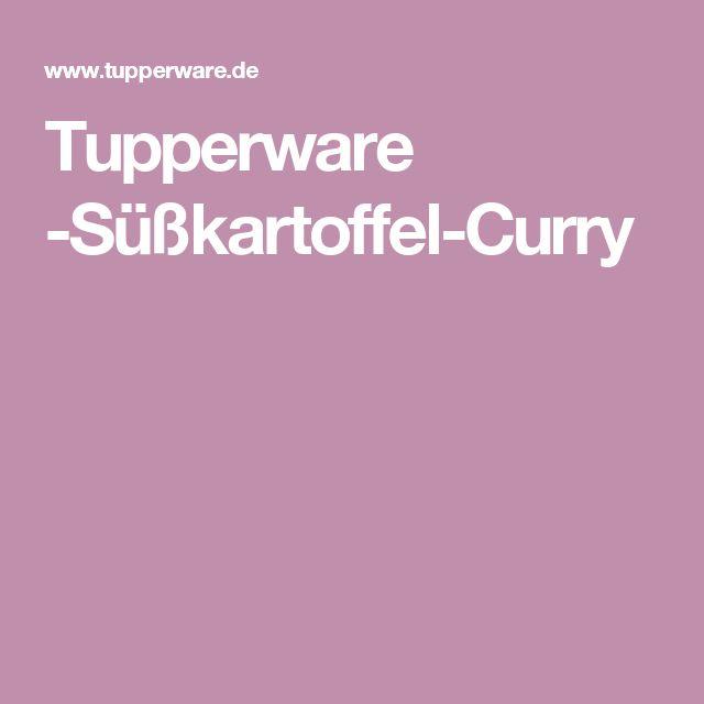 Tupperware -Süßkartoffel-Curry
