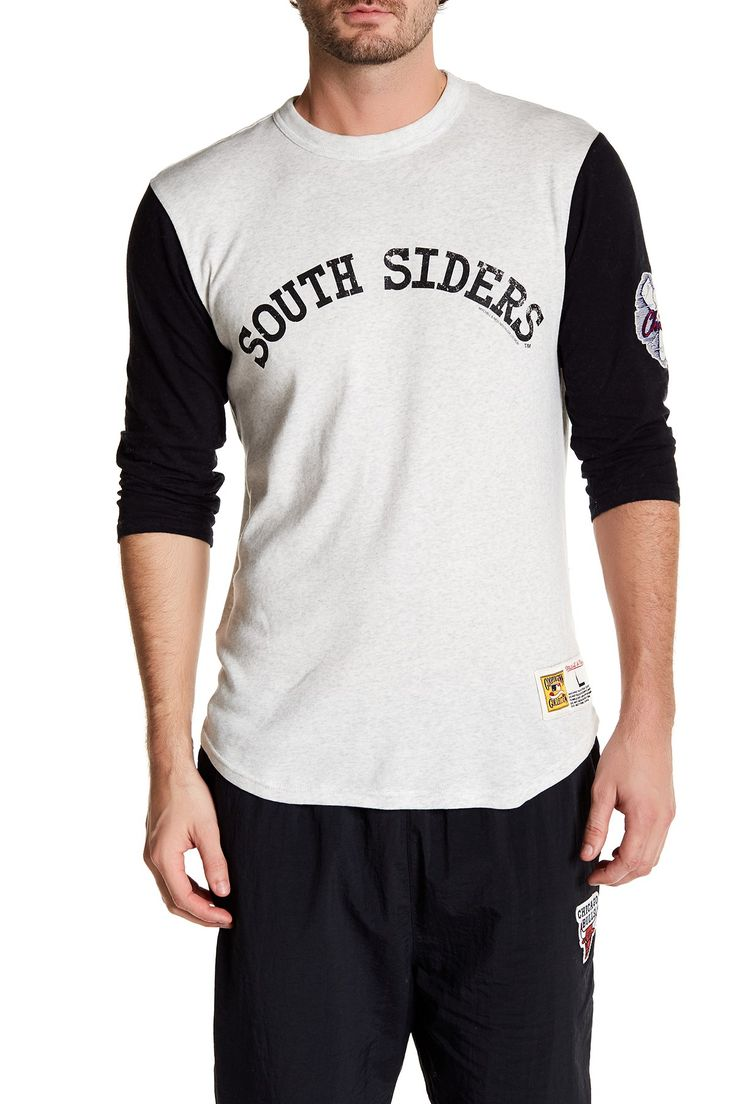 MLB White Sox Extra Out 3/4 Length Sleeve Tee