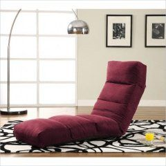 LS Sofabed Convertibles TT-NJA-D2-PK Jet Convertible Lounger Rosy Pink
