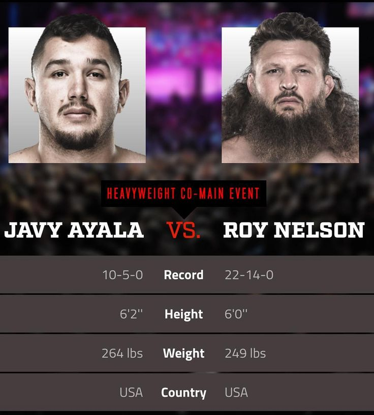 "#BigCountry is coming to #Bellator! Former #UFC #heavyweight star Roy ""Big Country"" Nelson @roynelsonmma faces Javy Ayala @eyecandyayala in his promotion debut at #Bellator183. Both these guys have demonstrated phenomenal #knockout power in the past meaning this co-headline event might be the #fight to watch.  What do you think will happen? Tell me in the comments and don't forget to press like  and follow for all the latest MMA news!  Every fighter  has a story   Dont miss this and all the…"