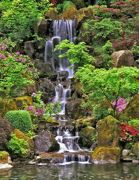 17 best images about waterfalls on pinterest new york for Garden fountains portland oregon