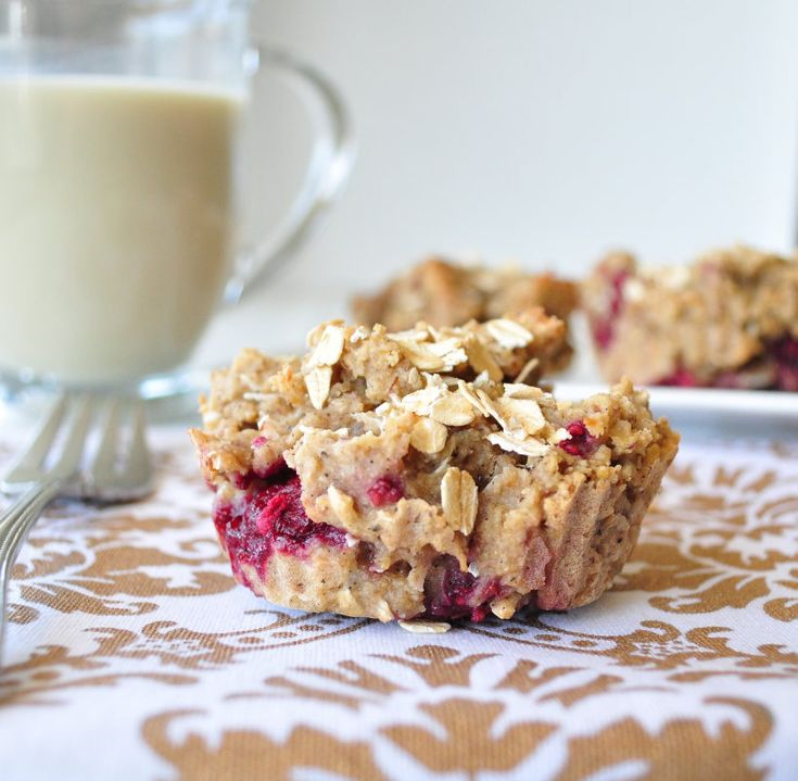 Raspberry Coconut Muffins.  Vegan and no refined sugars.