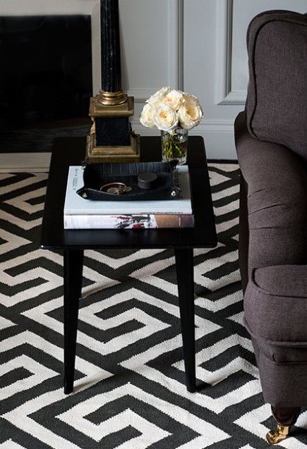 In Layered's Signature Collection you will find this graphic rug called Greek Key Mocca Brown. A great example of a classic black and white rug with a modern twist.  Scandinavian designed quality rugs with worldwide free shipping. See more at: http://layeredinterior.com/product/greek-key/