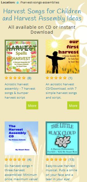 Harvest / Thanksgiving Songs, Assemblies, Ideas & Presentations for Schools or Church. #harvest #thanksgiving #harvest_songs #thanksgiving_songs http://www.learn2soar.co.uk/harvest-songs-assemblies