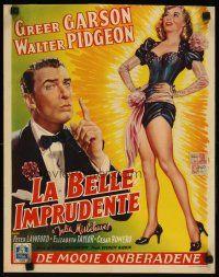 8y109 JULIA MISBEHAVES Belçikalı '49 güzel Greer Garson, Walter Pidgeon'un tam uzunlukta sanatı!