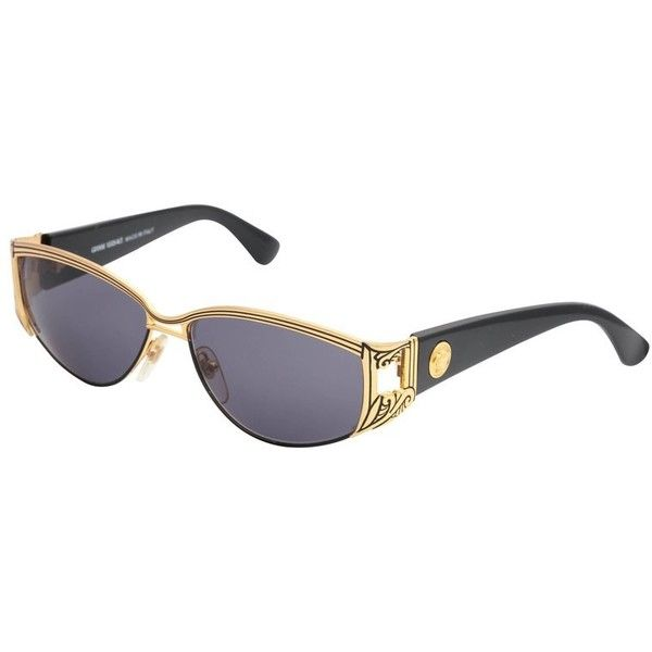 844cb58aac69f Preowned Vintage Gianni Versace Sunglasses Mod S 62 Col 18l ( 600) ❤ liked  on Polyvore featuring accessories
