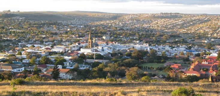 jobs for 1820 settlers in South Africa | Panoramio - Photo of View of Grahamstown from 1820 ...