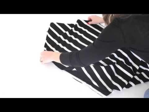 DIY Stretchy Car Seat Cover / Nursing Cover - YouTube