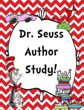 This is the beginning of what will be a HUGE unit on Dr. Seuss.  I know, I know, Dr. Seuss's birthday was like, in March but what better way to end the first grade year than by doing an Author Study with one of the best children's authors ever?   I have been working on this for a little while and I have so many more ideas that I can't wait to add.