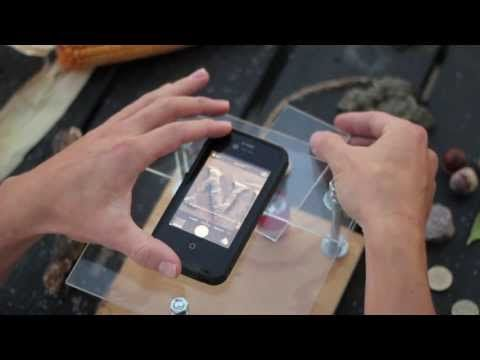 Turn Your Smartphone Into a Digital Microscope For Under $10    This video shows how to build a simple and compact DIY Conversion Stand which is even fit to be used in an actual lab.
