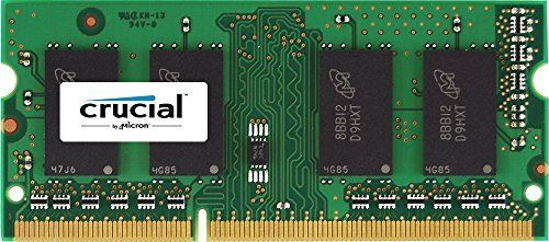 Crucial 2 GB DDR3 1333 MT/s (PC3-10600) CL9 SODIMM 204-Pin 1.35V/1.5V for Mac(CT2G3S1339M)   MyPointSaver
