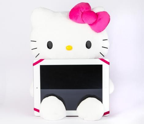 Hello Kitty Plush Tablet PC Stand $36