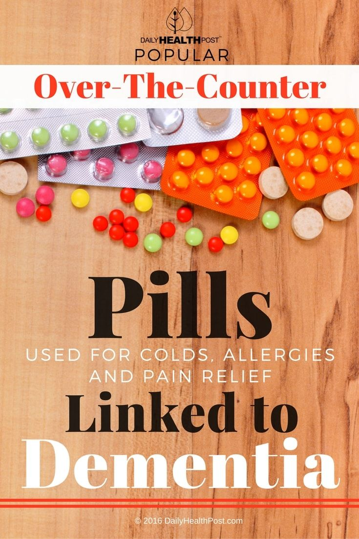 We assume that over-the-counter meds�for common ailments such as allergies and sleeplessness are safe.