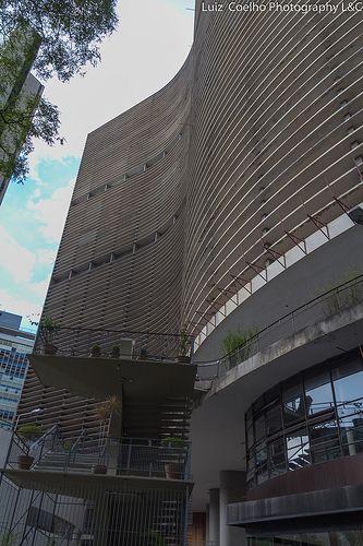 Edificio Copam,Sao Paulo,Brasil.