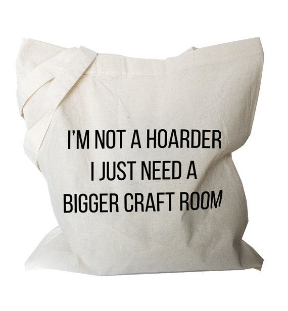 Crafter market Bag Canvas shopping bag Cotton by BlackTypographic