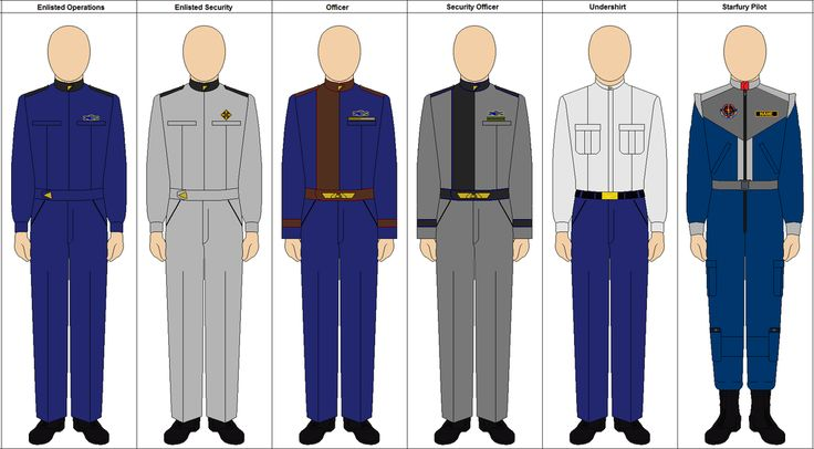 babylon 5 | Babylon 5- Earth Alliance Uniforms by charyui