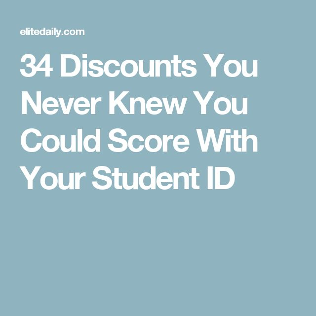 34 Discounts You Never Knew You Could Score With Your Student ID