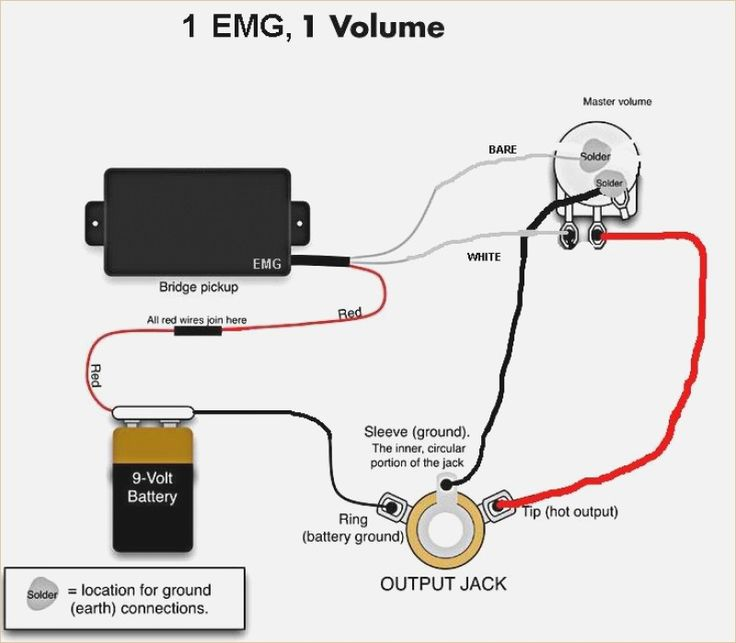 Wiring Diagram For Emg Active Pickups  U2013 Powerking