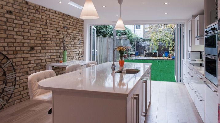 A beautiful Kitchen Extension & Side Return from MyLondonExtensions.