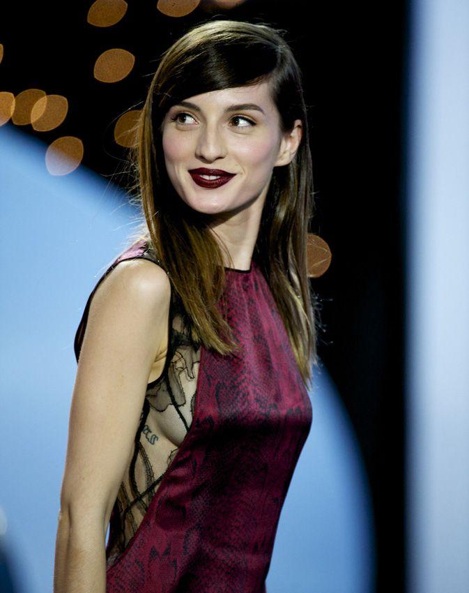 La actriz fue la encargada de presentar la gala de clausura del Festival de Cine junto a José Coronado